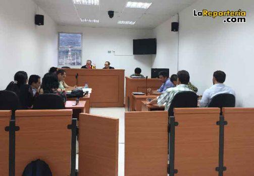Audiencia de Conciliación en el Tribunal