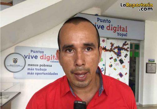 Jairo Rangel asesor de planeación Alcaldía de Yopal