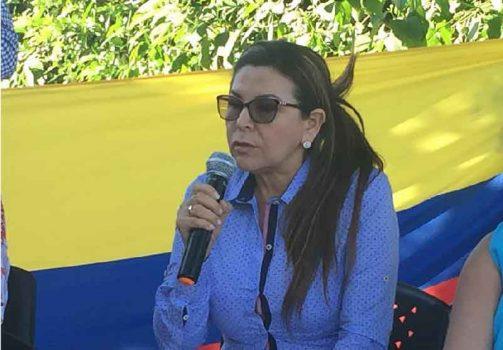 Alcaldesa de Yopal Luz Marina Cardozo