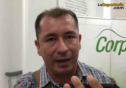 Fabio Vega, alcalde de Paz de Ariporo