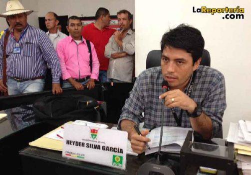 Concejal Heyder Silva - Facebook
