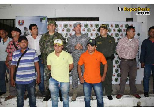 Fueros rescatados por la Fuerza Pública