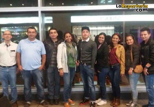 Comisión que viajó a México