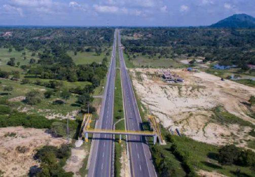 Obras del contrato Ruta del Sol II.Obras del contrato Ruta del Sol II.