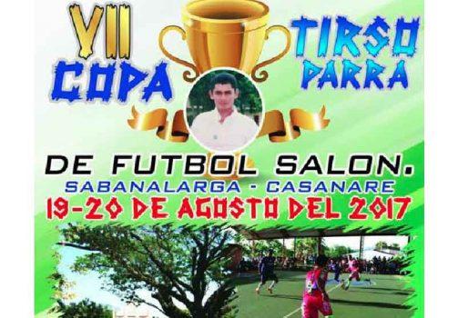 Copa de Fútbol de Salón en Sabanalarga.