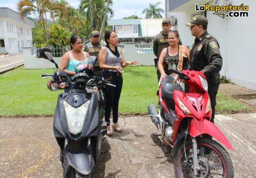 Recuperaron motocicletas robadas.
