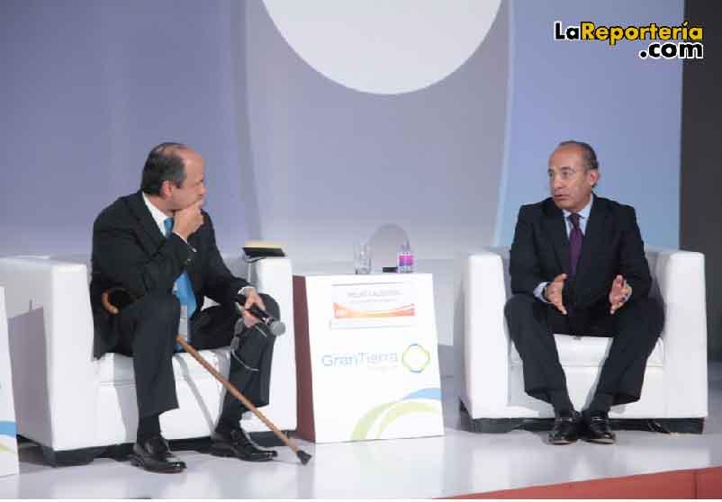 Francisco Lloreda ACP - Felipe Calderón México.
