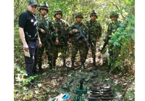 Material de Guerra encontrado en Orocué /