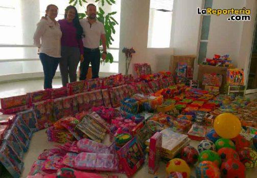 Entrega de regalos del Hospital de Yopal