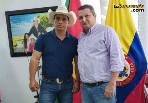 Gobernador Alirio Barrera y diputado Homero Abril/