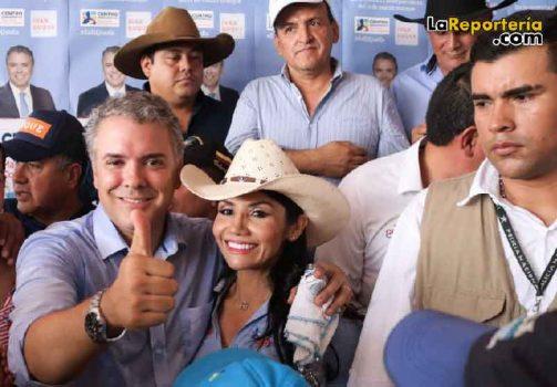 Iván Duque - Amanda Rocío González