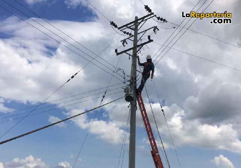 Cortes de energía en el sector rural.