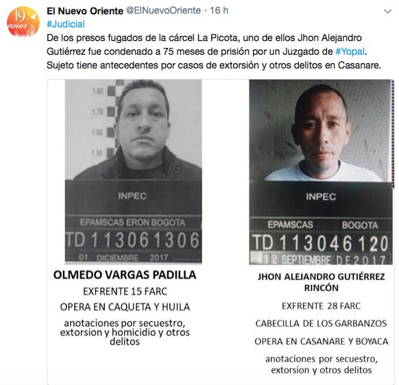 Trino de periodista Martín Mesa.