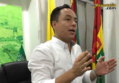 Alcalde de Yopal Leonardo Puentes -