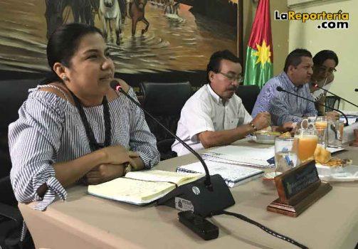 Sandra Garzón secretaria De desarrollo Social de Nunchia-