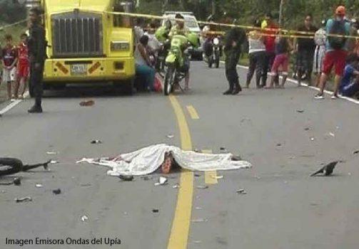 Accidente en Villanueva-