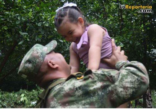 Día del Padre en el Ejército Nacional-