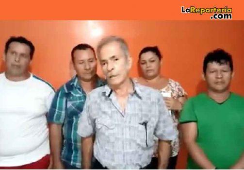 Vendedores ambulantes de Aguazul