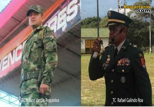 Comandantes Batallón Ramón Nonato Pérez.