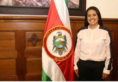 Alcaldesa de Tasco (e) Natalie Manrique.