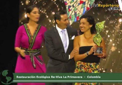 Este fue el momento de la premiación en Ecuador.