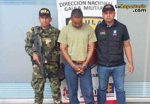 LO capturaron por el delito de extorsión en el Valle-