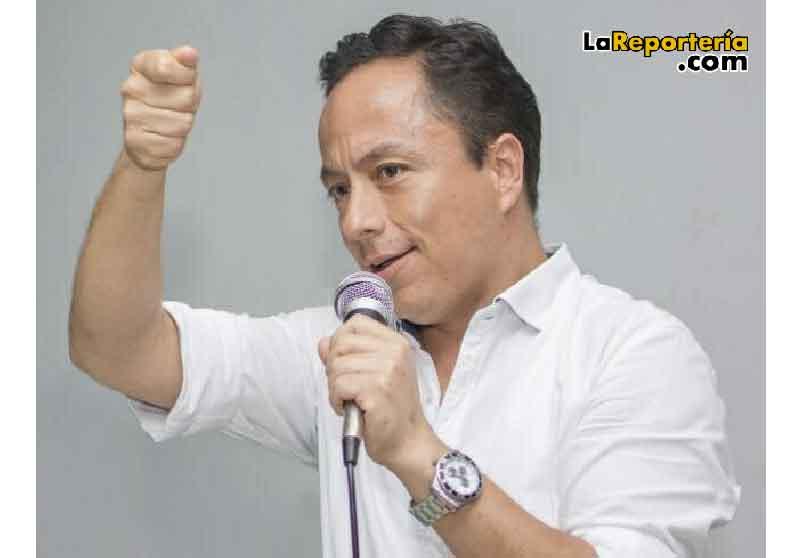 Leonardo Puentes, alcalde de Yopal.