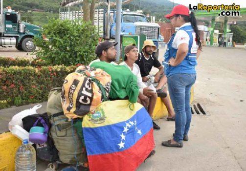 Venezolanos que han llegado a Casanare.