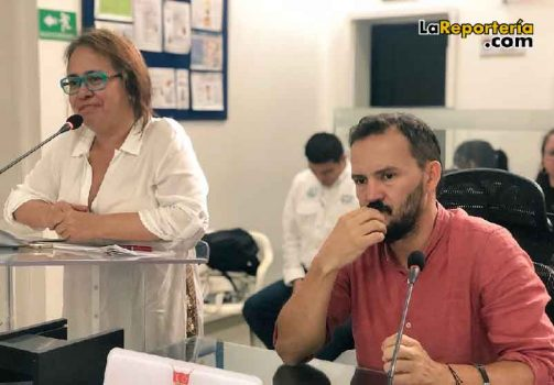 Luz Amanda Camacho - Concejal Pedro Torres 'Pepino'-