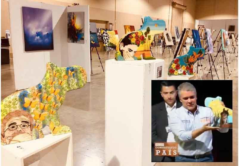 Exposición de Rossy Valero en Estados Unidos.