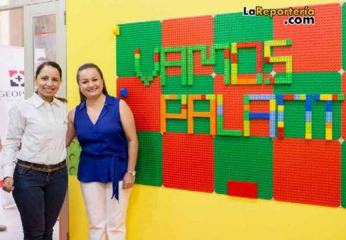 Aula LEGO entregada por Geopark.