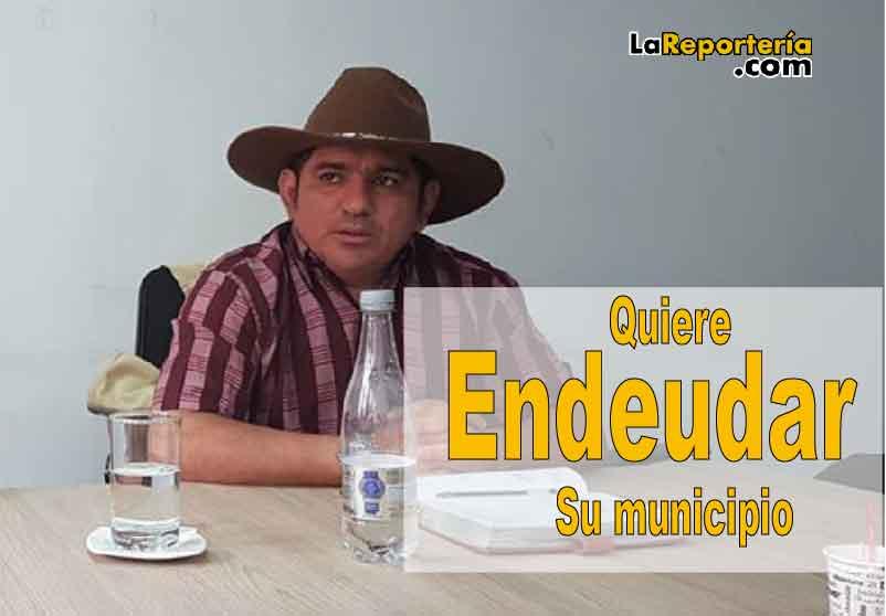 Alcalde de Hato Corozal Alexander Martínez-