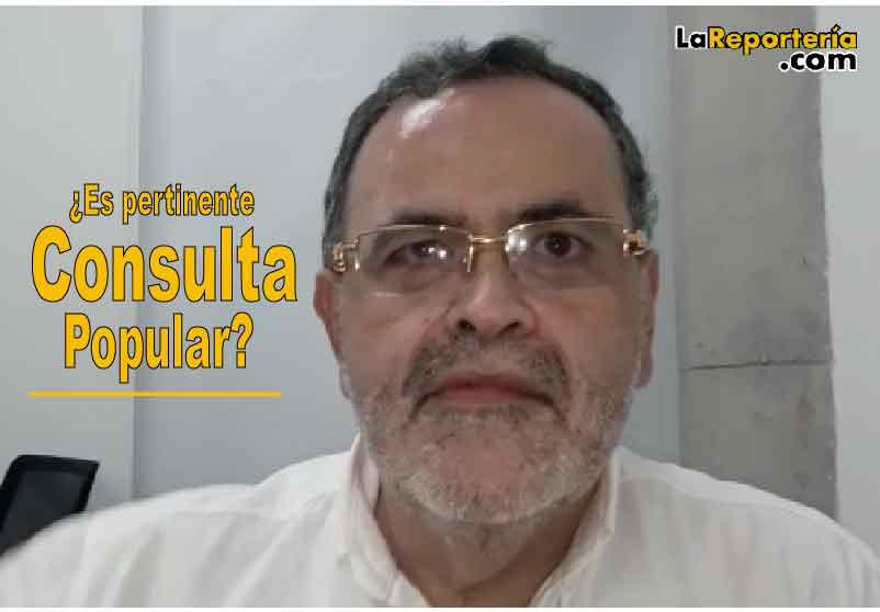 Empresario Gabriel Liévano-