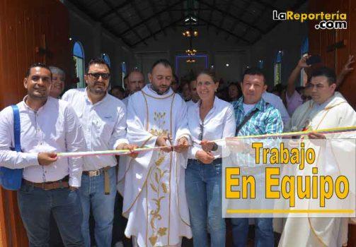 Apertura de Iglesia de El Morro.Apertura de Iglesia de El Morro.
