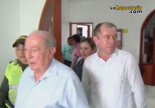 Ex Procurador Jaime Bernal y su defendido, alcalde Favio Vega.