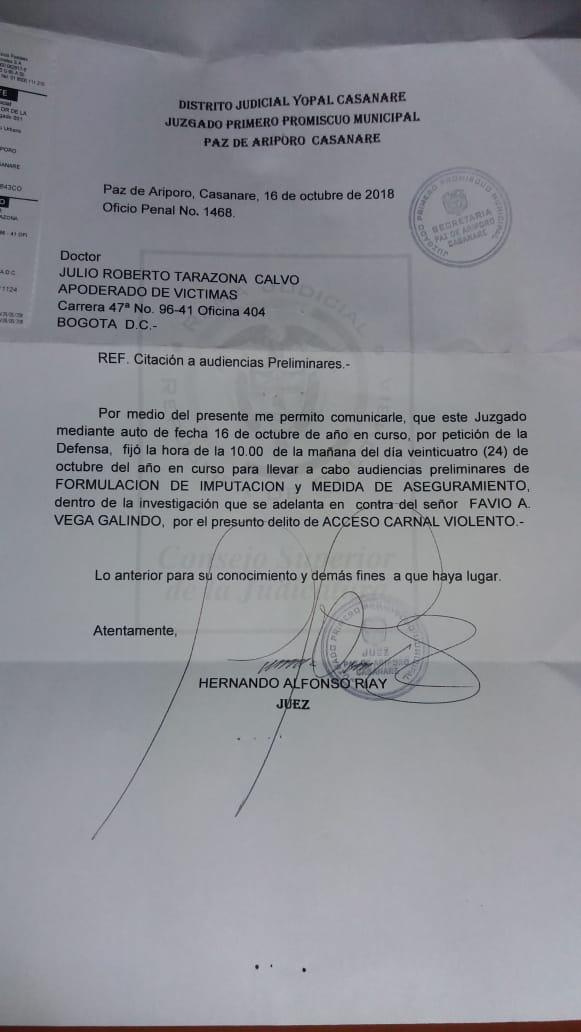 Cortesía Casanari Prensa.