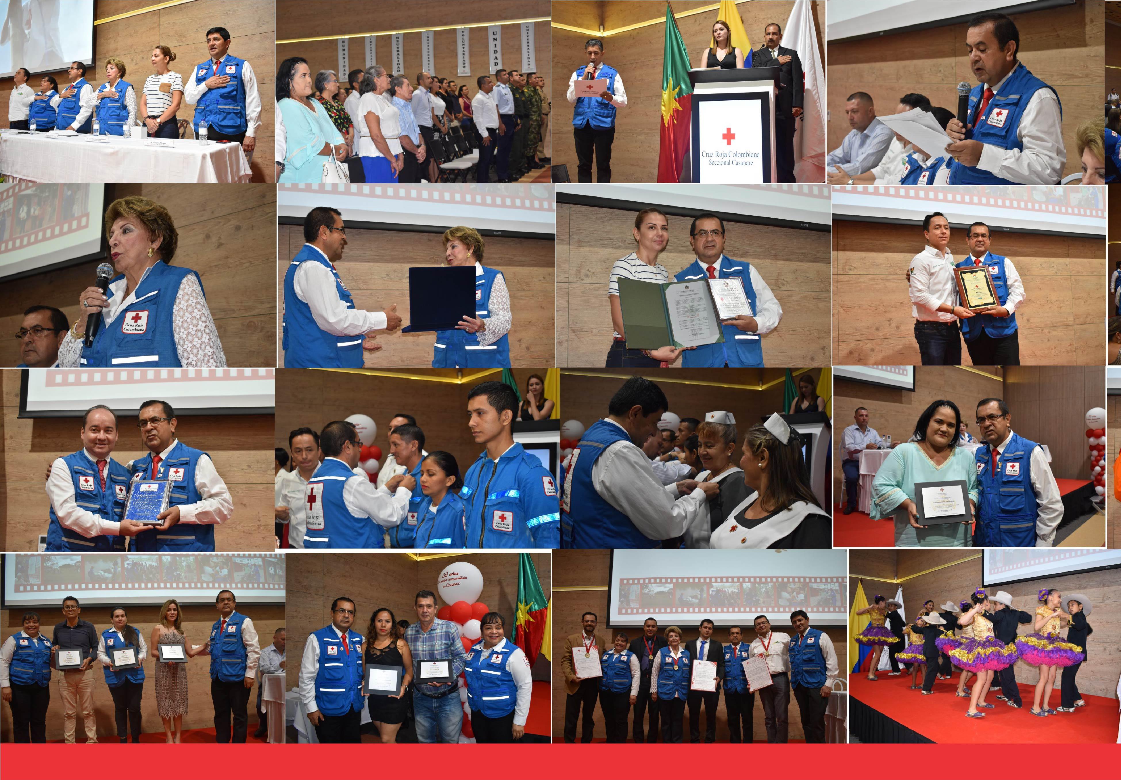 Así fue la celebración de los 30 años de la Cruz Roja  en Casanare.