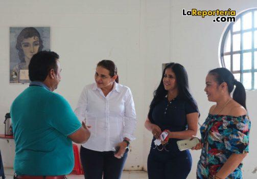 Reunión en San Luis de Palenque.