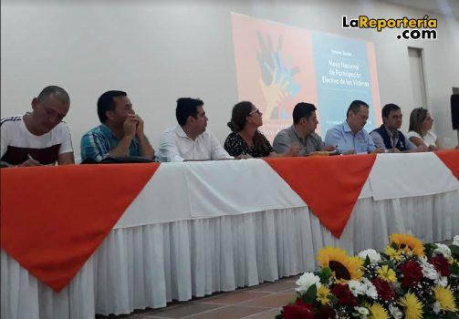 Víctimas de Casanare trabajan en su plan de acción.