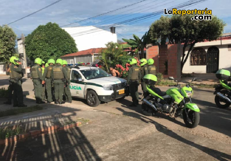 Policía capturó a sujeto armado en Yopal.
