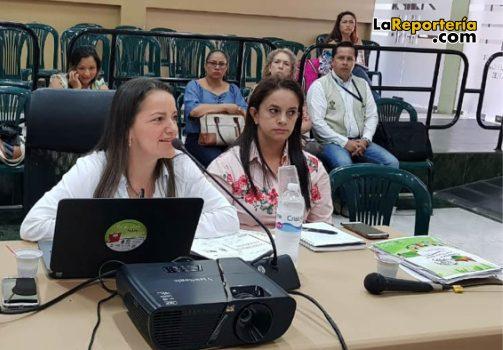 Sandra Patricia Rincón, secretaria de Educación del departamento.