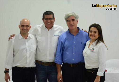 Viceministro - Ministro Uribe - Representante Cristancho - Secretara de Salud