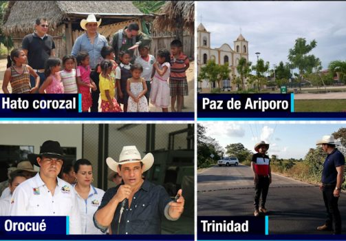 Estas son las obras que se realizan en los municipios de Casanare.
