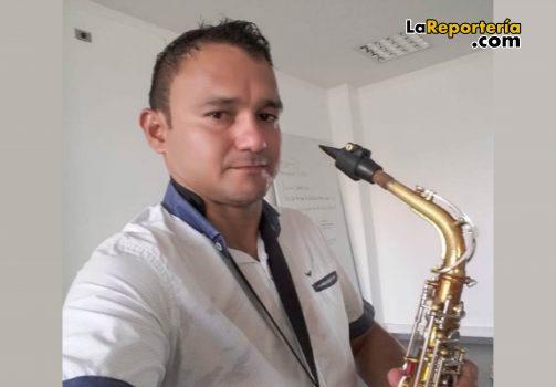 Iván Darío Silva resultó quemado con pólvora.
