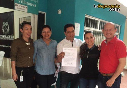 Jessica Liseth Cifuentes Martínez, Jackeline Egea, Héctor Fernando Vizcaíno su esposa Cielo Rodríguez y Giovanny Reyes