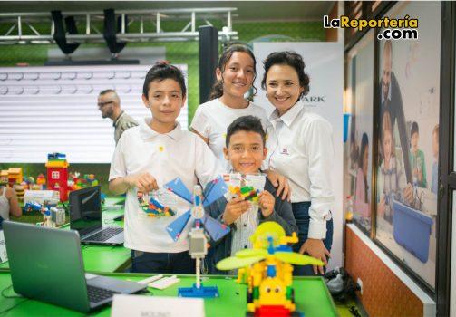 Aula Lego entregada en Tauramena.