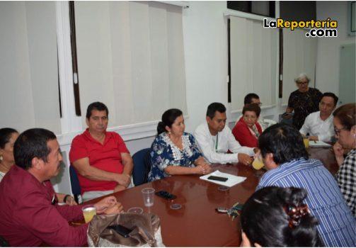 Alcalde de Yopal en reunión con rectores.