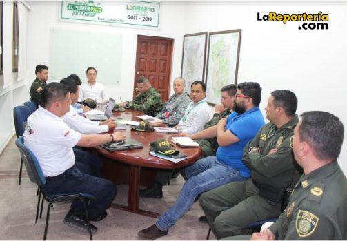 Consejo de Seguridad en Yopal-