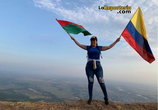 Johana Moreno, organizadora del evento.