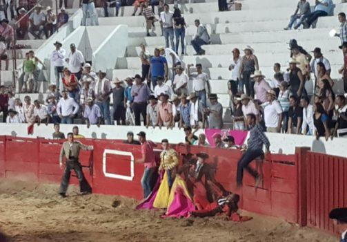 Torero herido - foto Alejandra González.